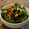 Massaged Kale Salad with Avocado and Carrots