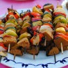 Chili Lime-Marinated Seitan Kabobs (and Chili Lime Butter!)