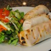 Hot Weather Recipes: Buffalo Tofu Spring Rolls