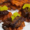 Virtual Vegan Potluck: Sweet Potato and Korean BBQ Bites