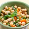 Easy Chickpea Basil Salad