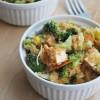 Buffalo Tofu Quinoa Veggie Bowls