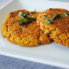 Thai Basil Chickpea Burgers (Sweet n' Spicy!)