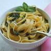 Lemon Basil Buttered Noodles