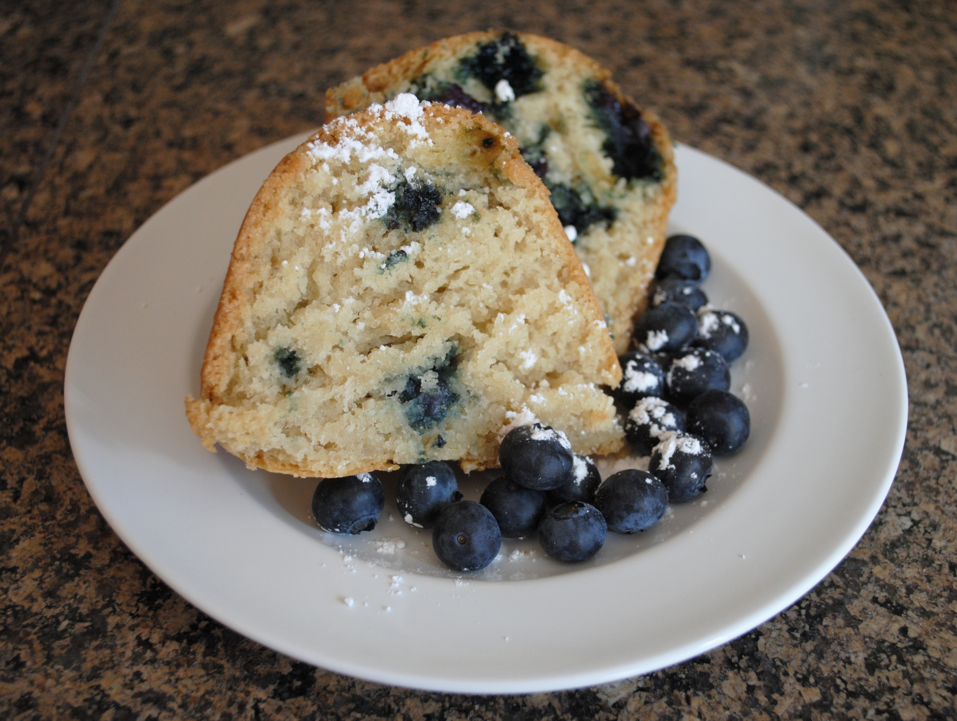 Vegan Blueberry-Coconut Bundt Cake