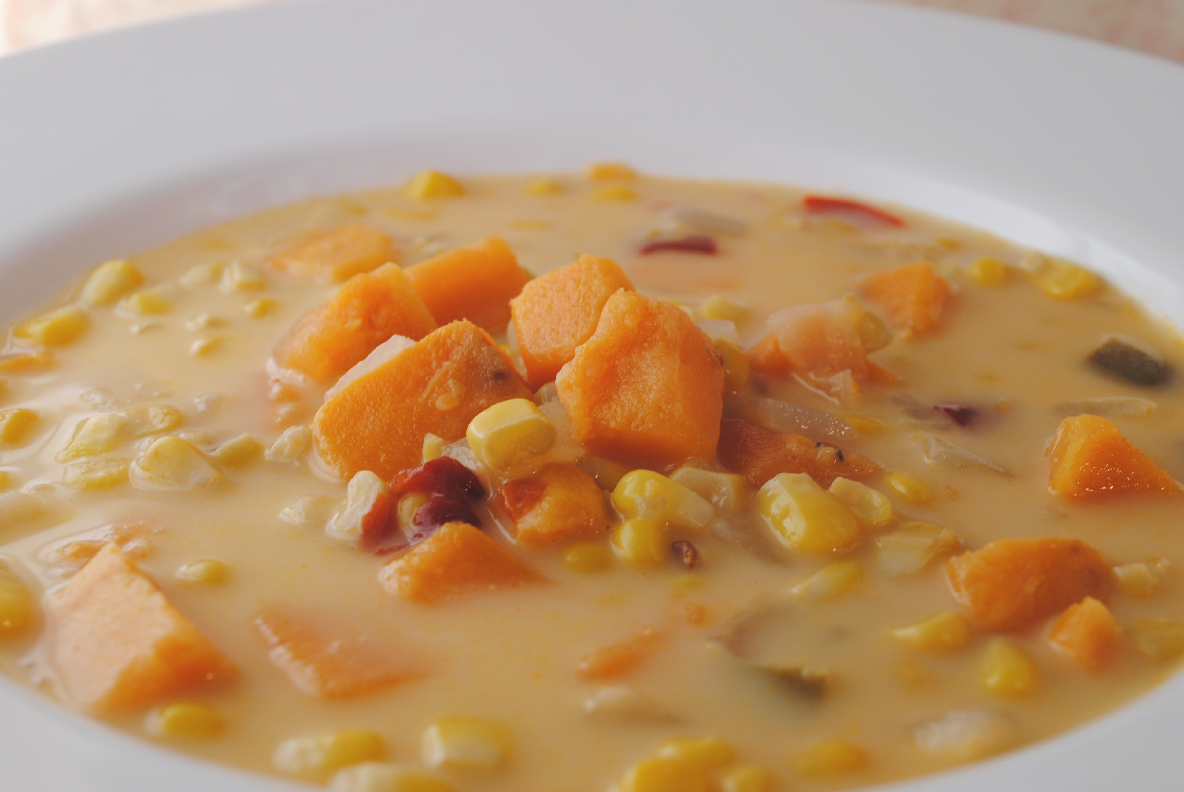 Vegan Chipotle Sweet Potato Chowder