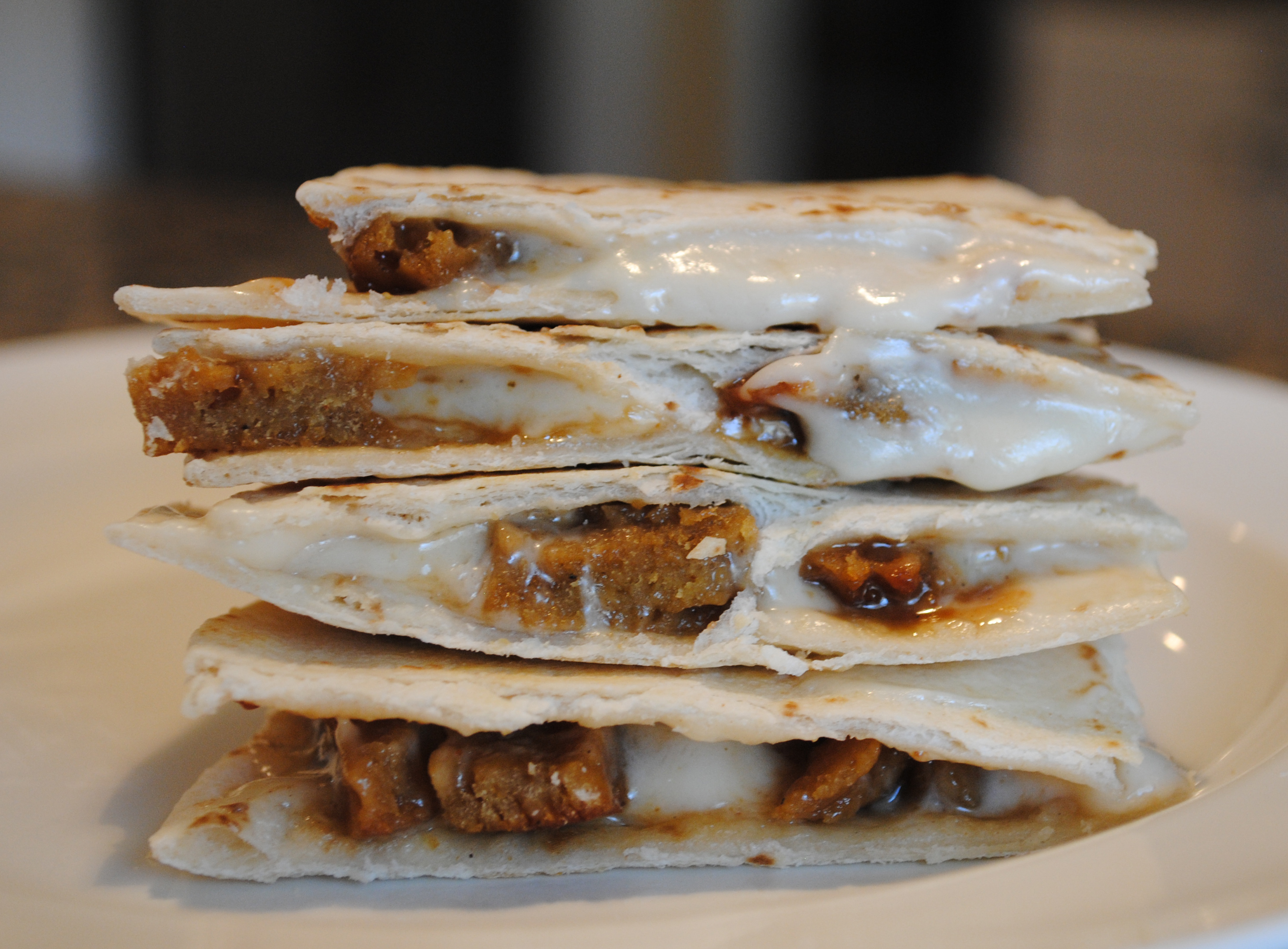 Vegan Korean BBQ (Bulgogi) Quesadilla