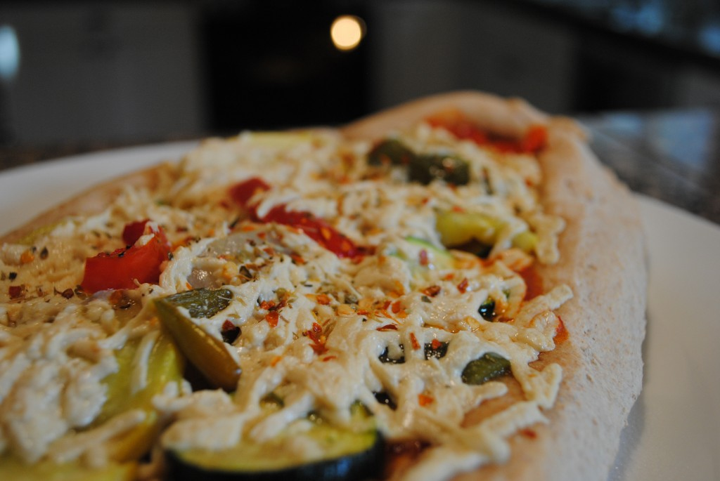 Vegan Grilled Veggie Pizza