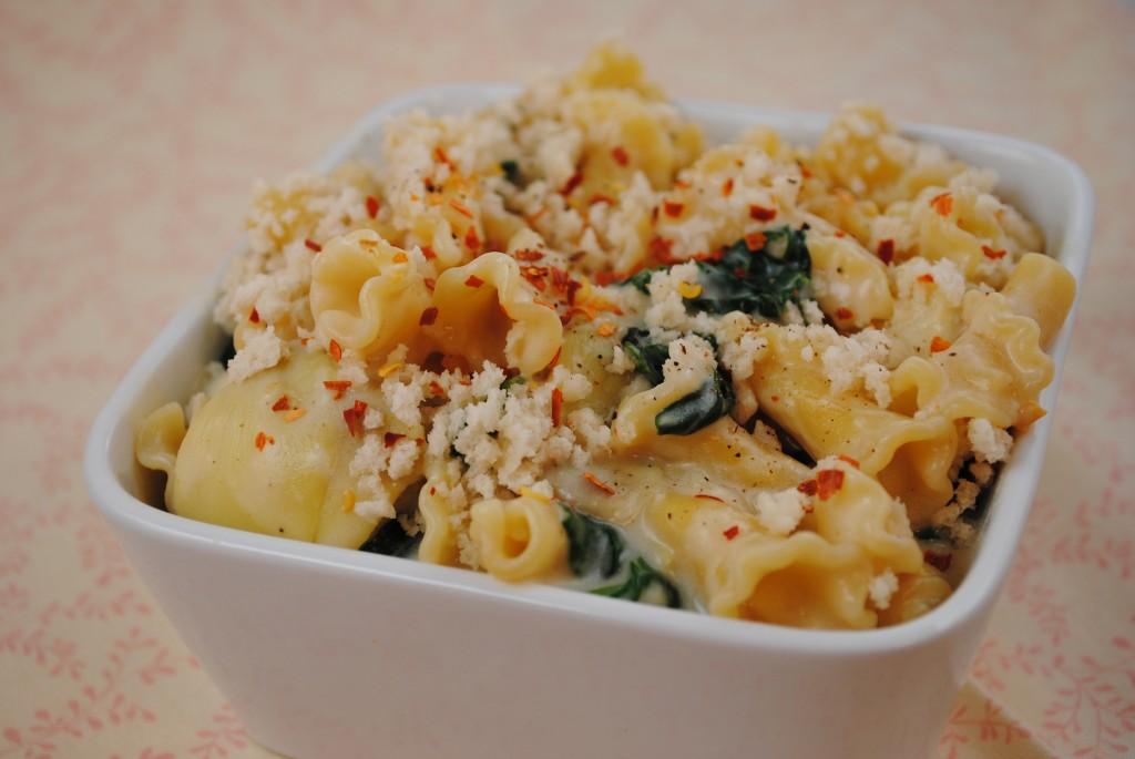Vegan Spinach Artichoke Pasta