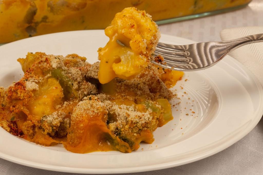 Vegan Cheesy Vegetable Casserole