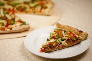 Vegan Thai Chicken Pizza