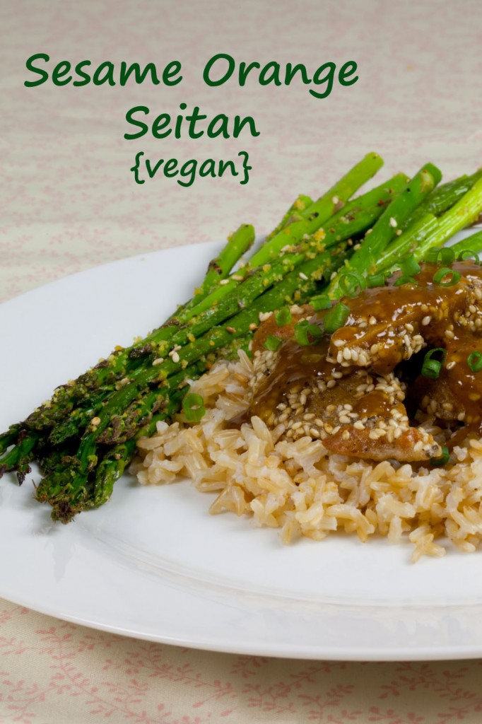 Vegan Orange Sesame Seitan