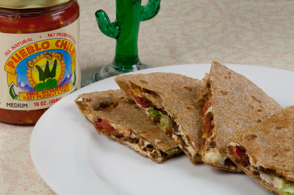 Vegan Taco Quesadillas