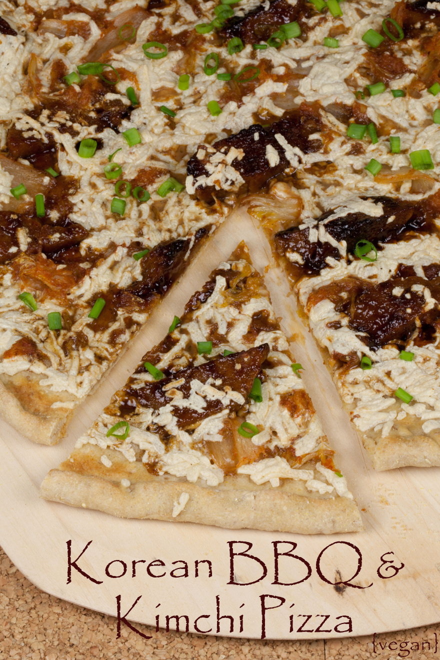25 delicious healthy and vegan korean recipes vegan kimchi pizza forumfinder Gallery
