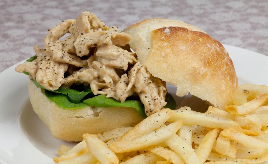 Easy Vegan Chik'n Sandwiches