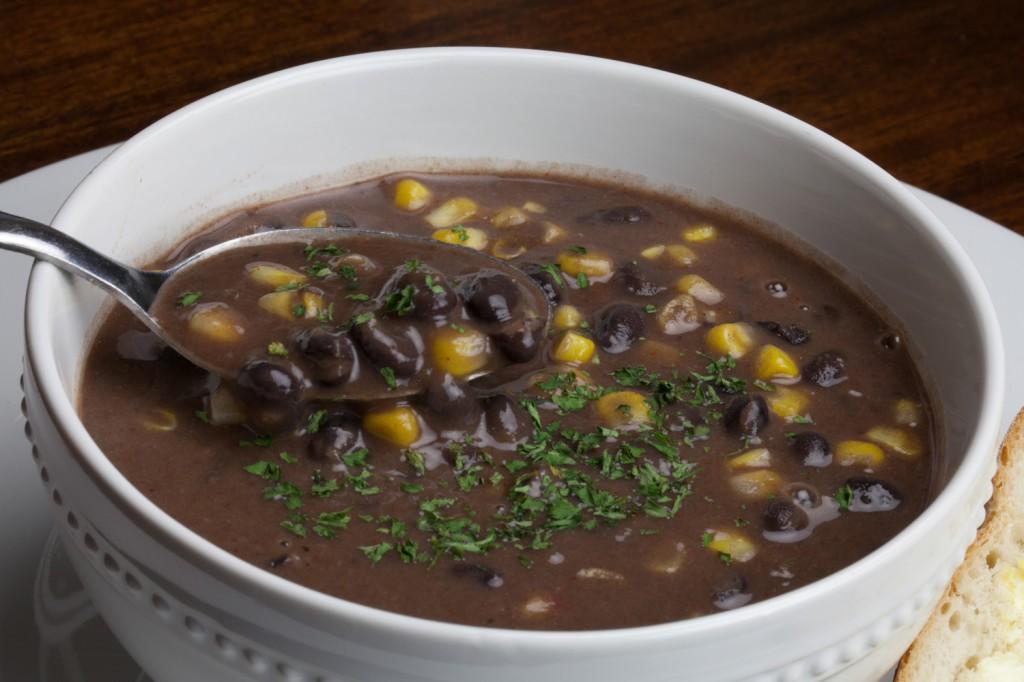 Vegan Black Bean Coconut Soup | That Was Vegan?