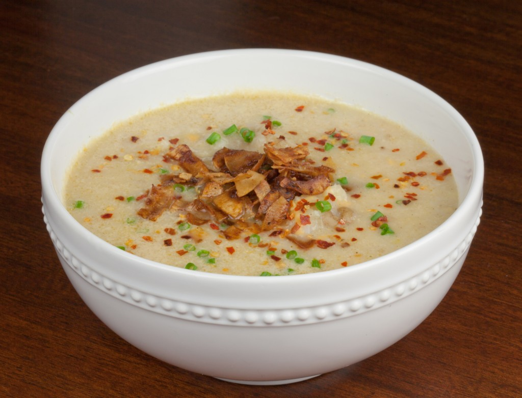 What makes this Vegan Baked Potato Soup special? The secret ...