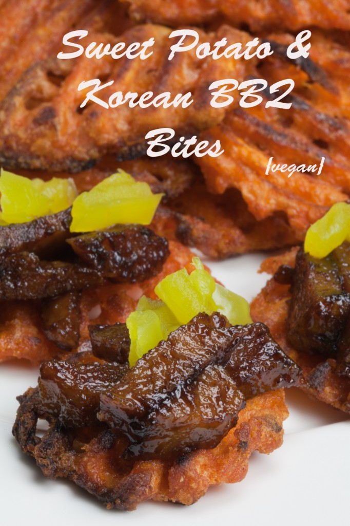 Vegan Sweet Potato and Korean BBQ Bites