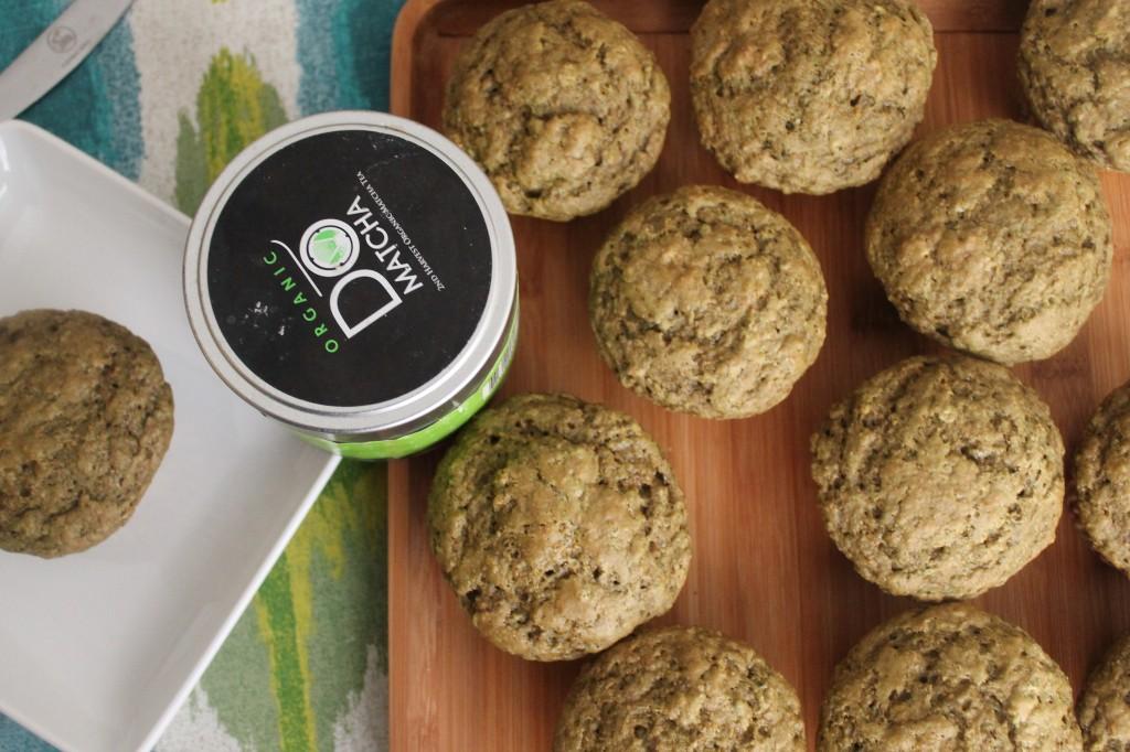 Guest Blogger: Meyer Lemon Matcha Muffins