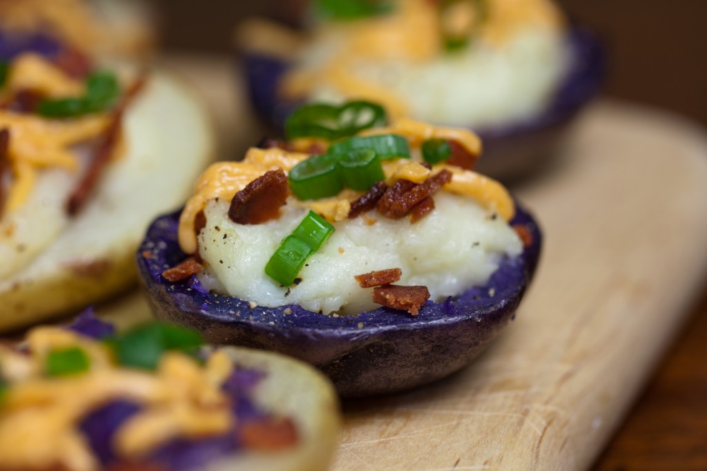 Easy Vegan Stuffed Potatoes