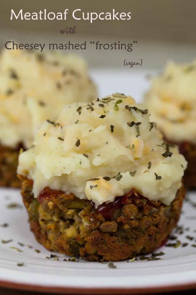 Vegan Meatloaf Cupcakes