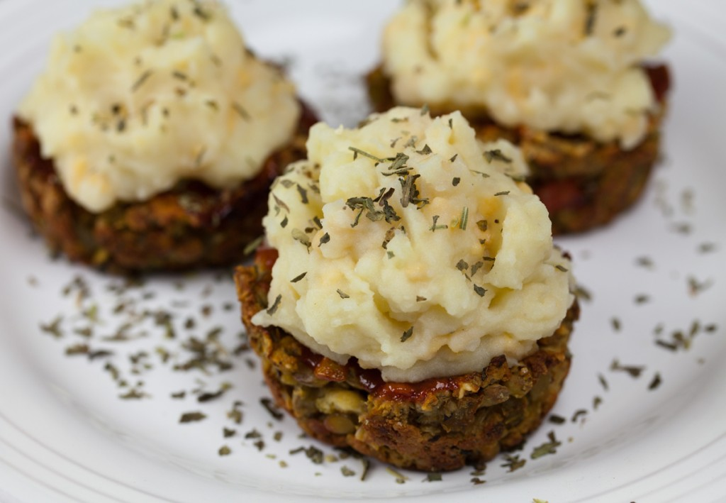 Vegan Meatloaf Cupcakes