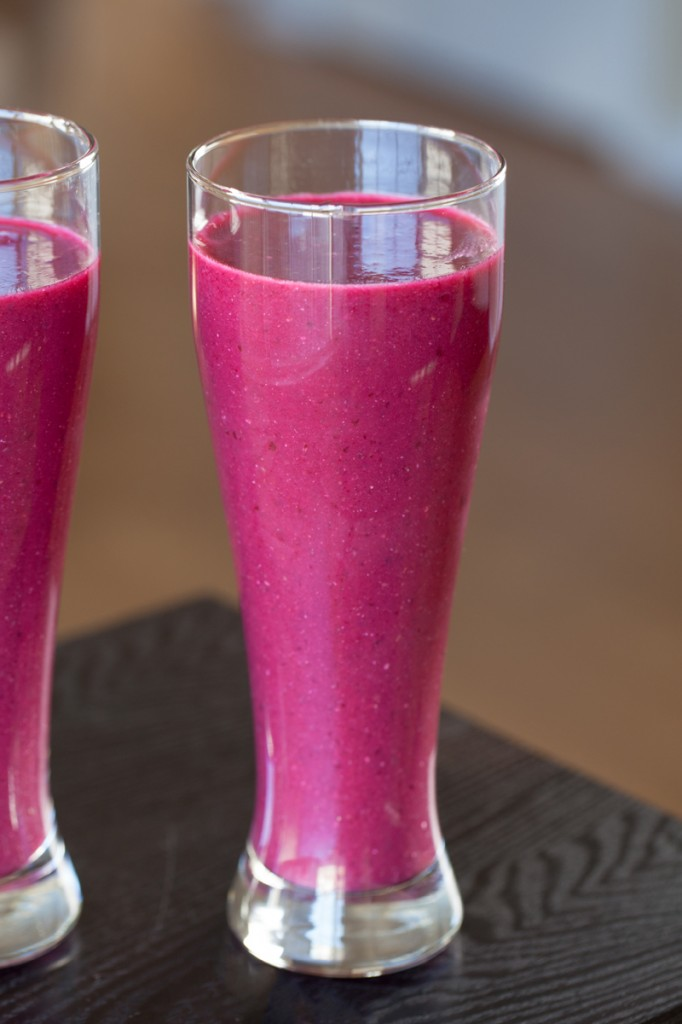Vegan Cherry Beet Smoothies | www.thatwasvegan.com