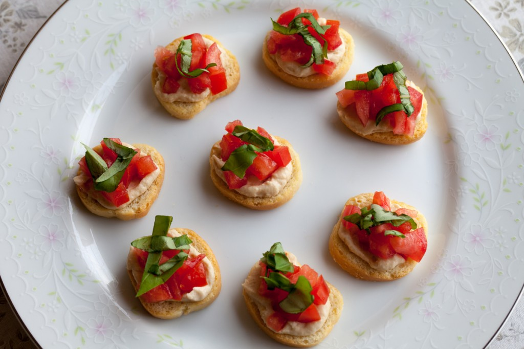 Easy Bruschettini | www.thatwasvegan.com