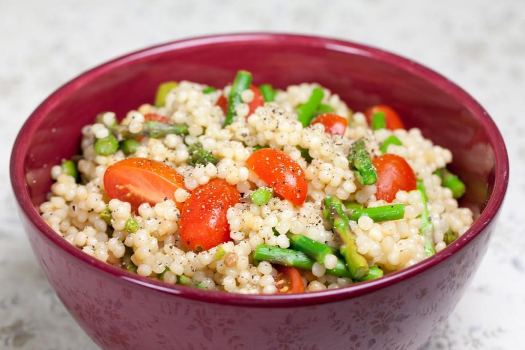 Vegan Lemony Couscous & Asparagus Salad