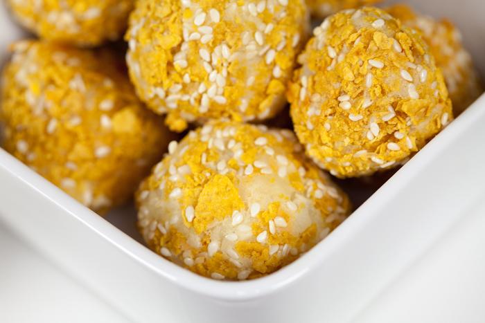 Vegan Crunchy Potato Bites | www.thatwasvegan.com