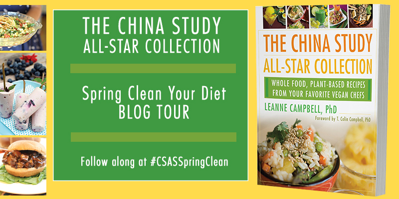 China Study All-Star Spring Clean Your Diet blog tour