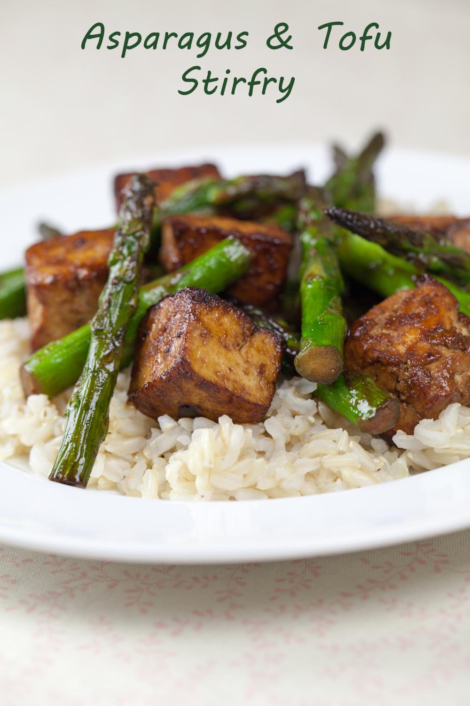 Asparagus & Tofu Stir-fry