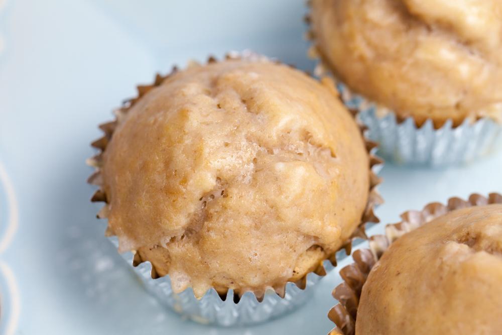 Sticky-Sweet Glazed Donut Muffins | www.thatwasvegan.com