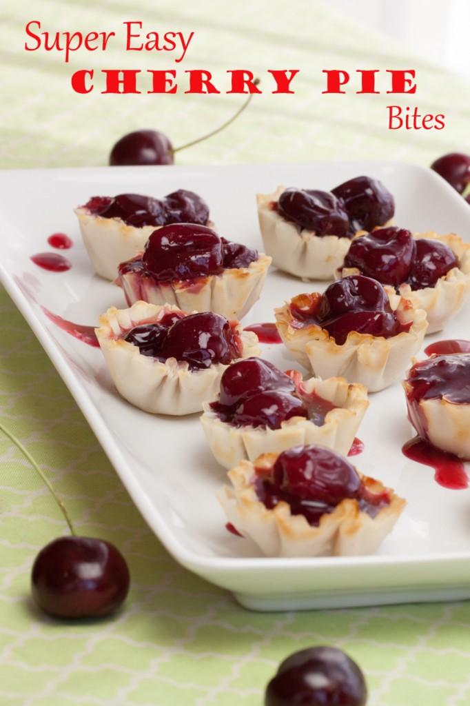 Cheater Cherry Pie Bites   www.thatwasvegan.com