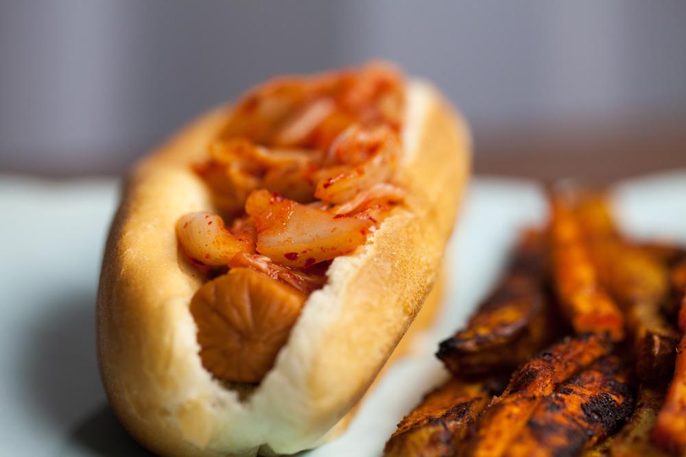 Kimchi Relish & Taco Fries | www.thatwasvegan.com