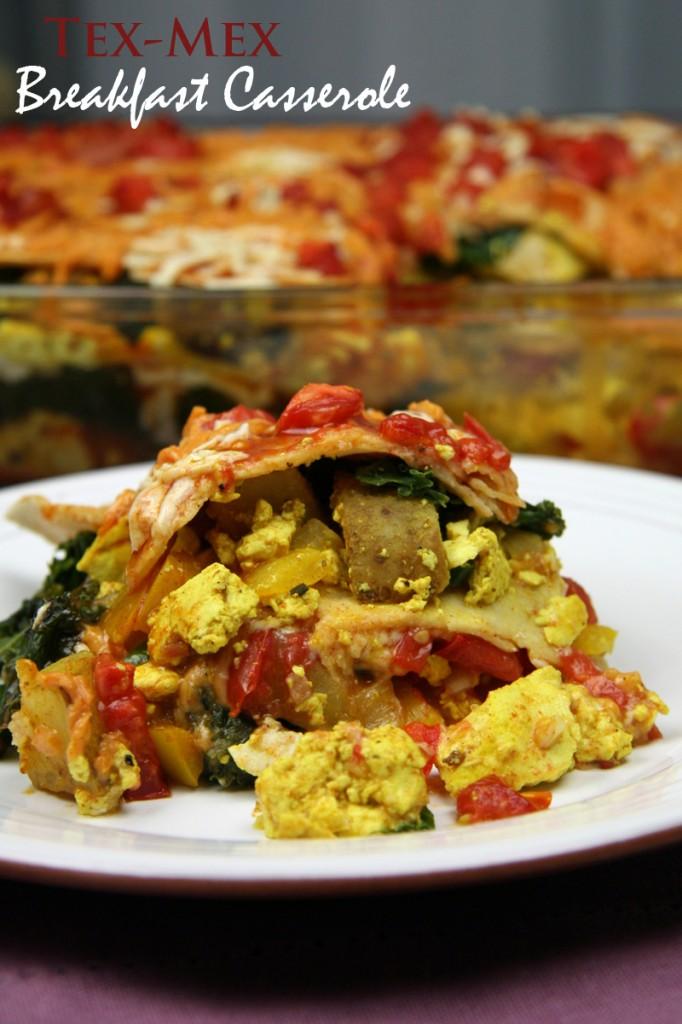 Tex-Mex Breakfast Casserole | www.thatwasvegan.com