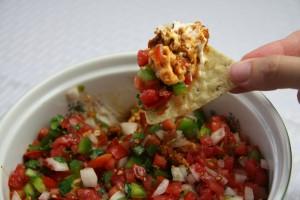 The Best Mexican Layer Dip | www.thatwasvegan.com