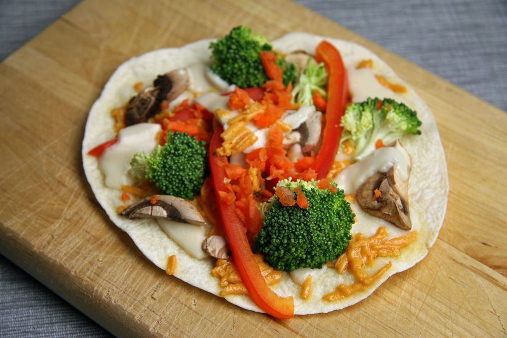 Veggie Ranch Quesadillas | www.thatwasvegan.com