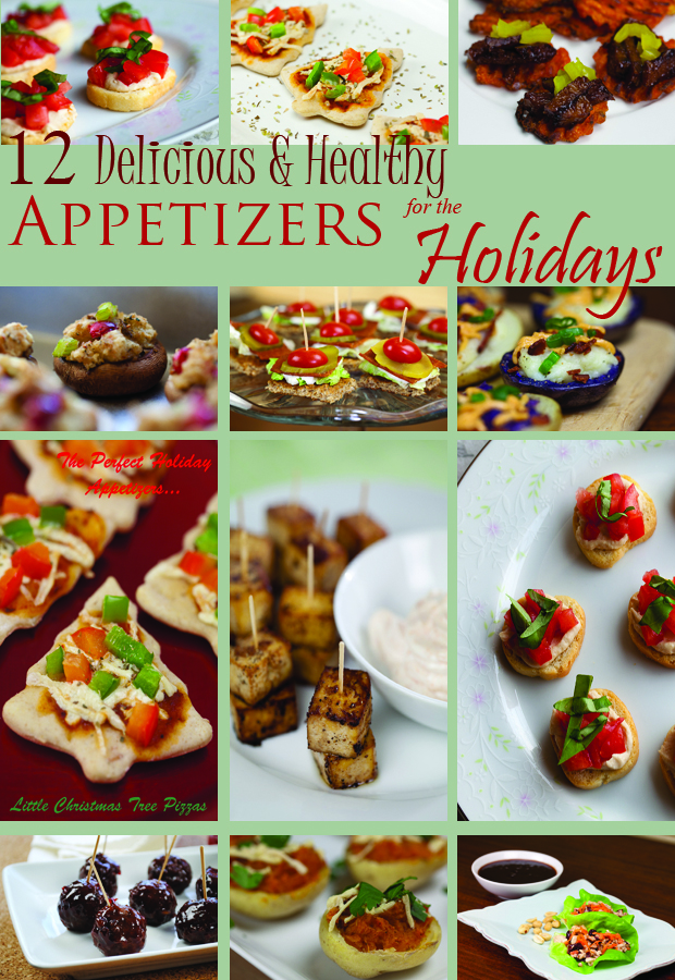 12 Delicious and Healthy Appetizers for the Holidays | www.thatwasvegan.com