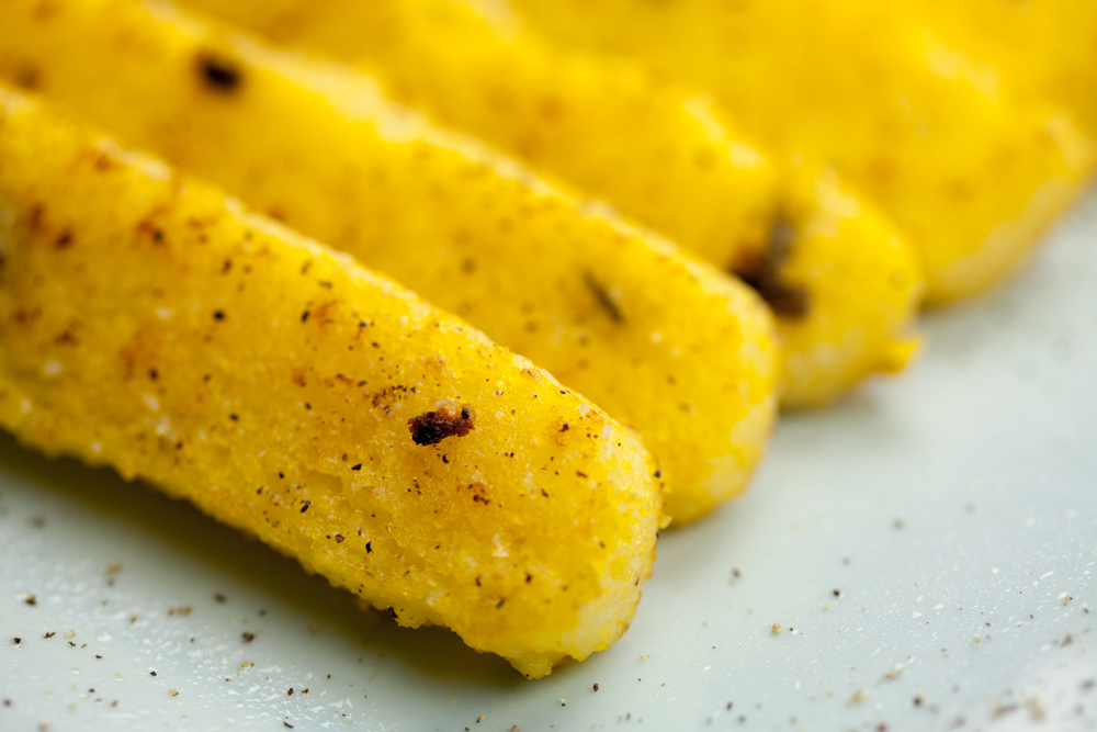Pan-Fried Polenta w/ Fresh Sage | www.thatwasvegan.com