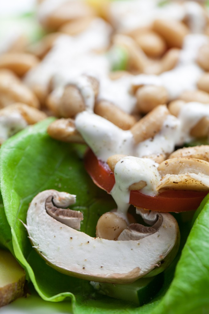 Jerk Bean Salad | www.thatwasvegan.com