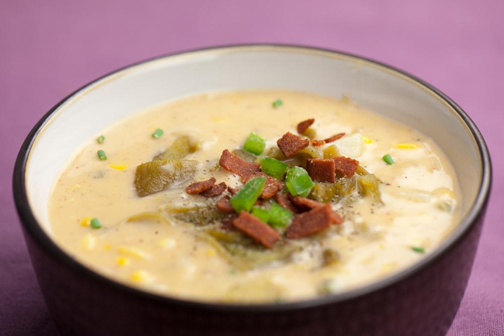 New Mexican Corn Chowder | www.thatwasvegan.com