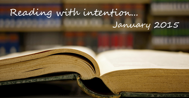 Reading with intention January 2015 | www.thatwasvegan.com