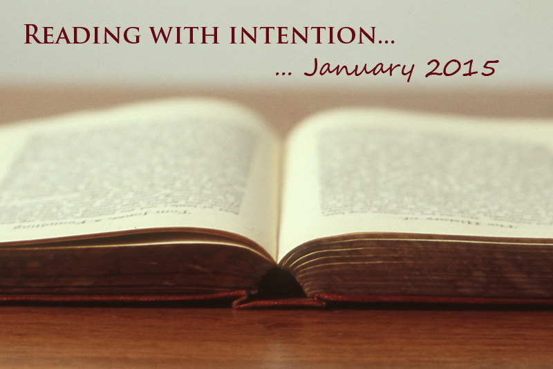 Reading with Intention 1/15 | www.thatwasvegan.com