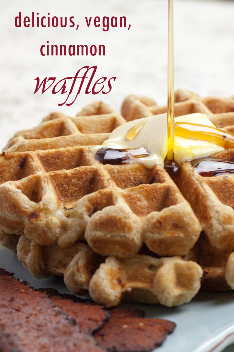 ... dragging out the waffle maker. Plus, these bad boys are super easy