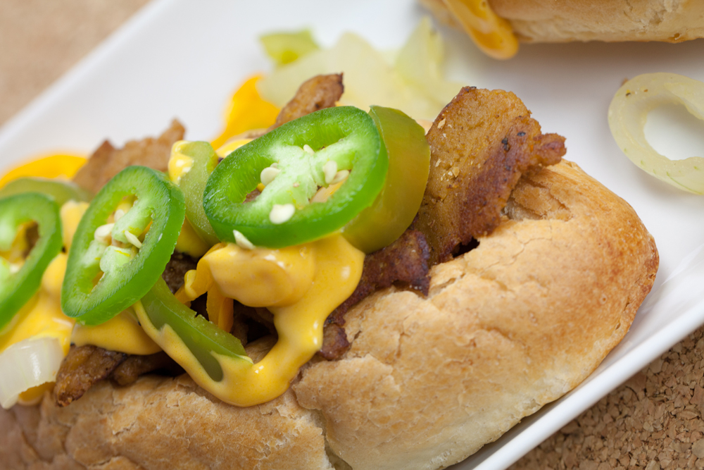 Vegan Philly Cheesesteak | www.thatwasvegan.com