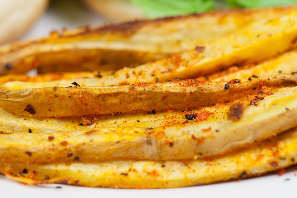 Garlicky Chipotle Sweet Potato Fries   www.thatwasvegan.com