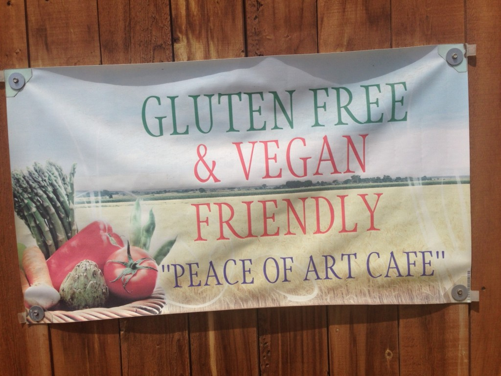 Mile High Vegan Eats: Peace of Art Cafe | www.thatwasvegan.com