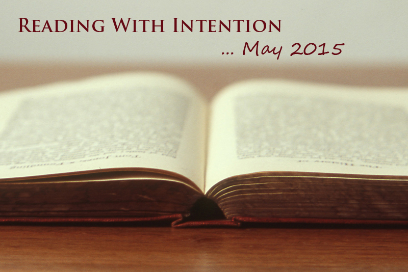 Reading with Intention, May 2015 | www.thatwasvegan.com