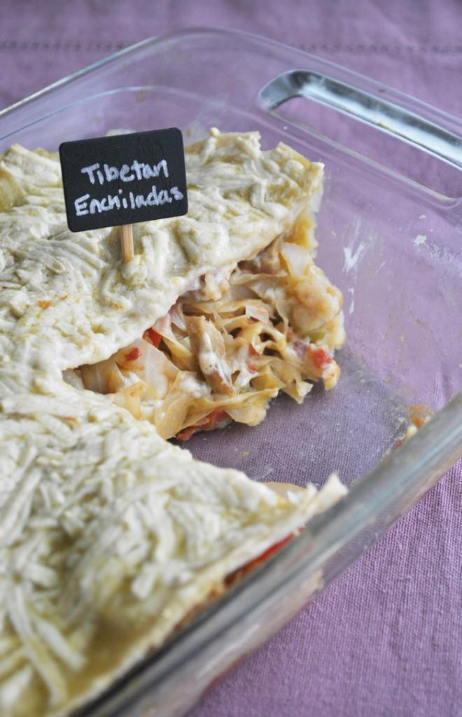 Tibetan Enchiladas | www.thatwasvegan.com